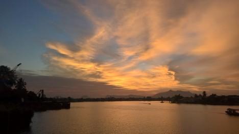 Kuching Waterfront.